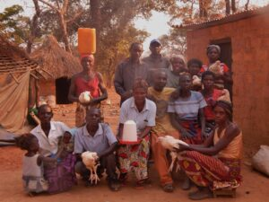 HIV+ Living Group: Chicken & Fish Farm, Agroforestry Garden, and Avocado Oil Business